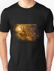 Christmas Card - On Cupid, On Comet, On Donner And Blitzen T-Shirt