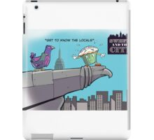 Get to Know the Locals iPad Case/Skin