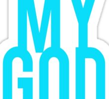 Oh My God Becky Neon Funny Sticker
