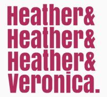Heathers Hot Pink Design One Piece - Short Sleeve