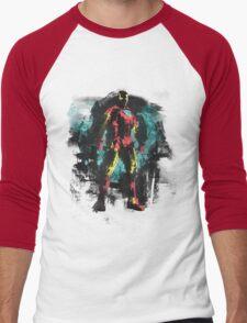Dressed in Iron Men's Baseball ¾ T-Shirt