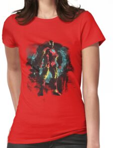 Dressed in Iron Womens Fitted T-Shirt