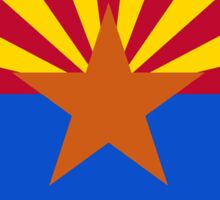 Welcome to Arizona Road Sign Sticker