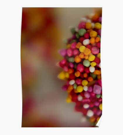 Sprinkled Cupcakes Poster