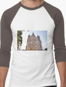 Saint Luzia's Basilica - A rear view Men's Baseball ¾ T-Shirt