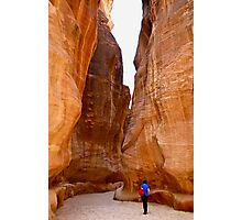 SIQ (looking for Indiana Jones???) Photographic Print