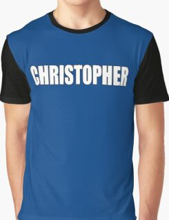 CHRISTOPHER, Topher, Name, Tag, Chris, Kit Graphic T-Shirt