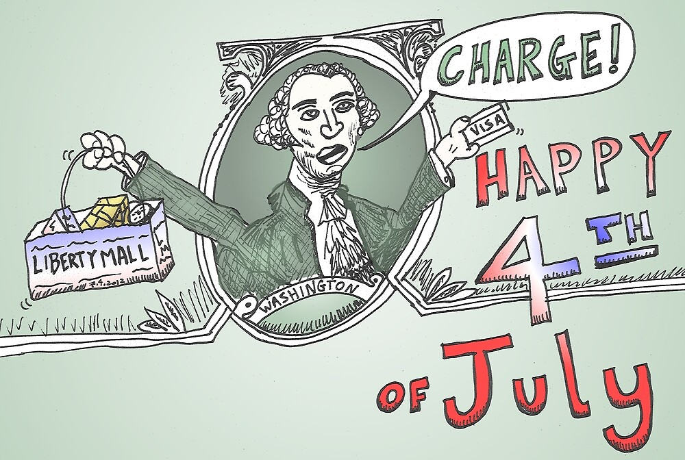 George Washington charge l'independence by Binary-Options