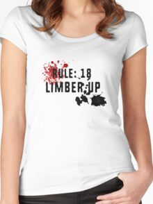 LIMBER UP Women's Fitted Scoop T-Shirt