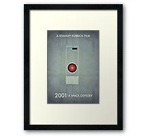 2001 - Hal 9000 Framed Print