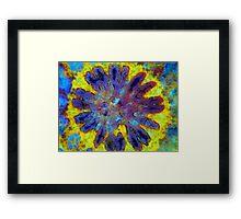 Floral Coral 4 Framed Print