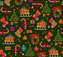 christmas x-stitch pattern for the holiday mood by nuanz
