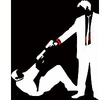 Cool Stencil Reservoir Dogs  Photographic Print