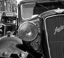 Total Gridlock 1950s Style by John Dunbar