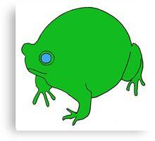 Fat Frog Canvas Print