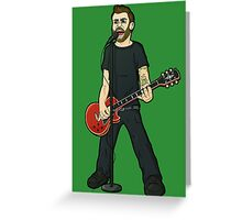 Tim Mcilrath - Rise Against Greeting Card