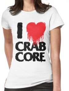 I LOVE CRABCORE Womens Fitted T-Shirt