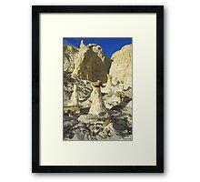 The Rimrocks, Utah Framed Print