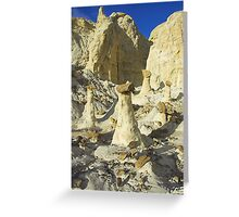 The Rimrocks, Utah Greeting Card
