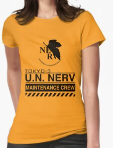 TOKYO-3 NERV  Womens Fitted T-Shirt