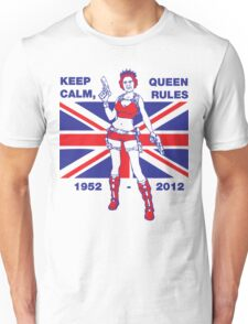 Cool Queen Elizabeth II Jubilee T-shirt Unisex T-Shirt