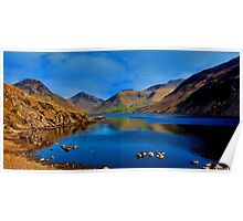 Wastwater Lake District Poster
