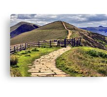 Towards Win Hill Canvas Print