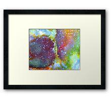 A Kiss In Colour Framed Print
