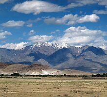 Hindu Kush Range, Bagram, Afghanistan by Timothy Alberry