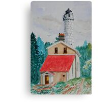 The Light at Cana Island Canvas Print