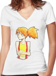 Pokemon - Misty Women's Fitted V-Neck T-Shirt