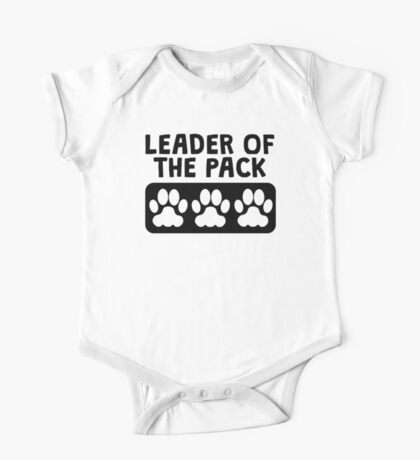 Leader Of The Pack One Piece - Short Sleeve