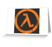 Half-Life Greeting Card