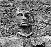 Face in Stone by Ethna Gillespie