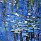 water lilies a la Monet by Jo-PinX