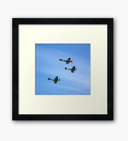 Spitfire Trio Framed Print