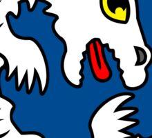 Cute Falkor The Luck Dragon Design Sticker