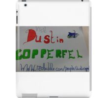 Concept advertiser iPad Case/Skin