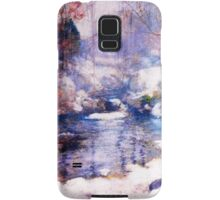 Snow in the forest Samsung Galaxy Case/Skin