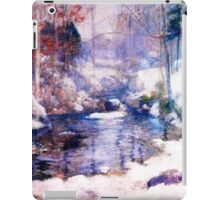 Snow in the forest iPad Case/Skin