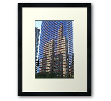 Skyscraper Reflections Framed Print