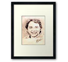 John Ritter Framed Print