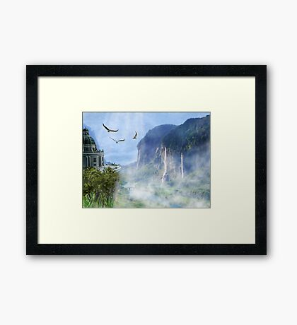 The Last Homely House East of the Sea Framed Print