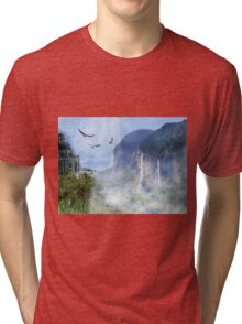 The Last Homely House East of the Sea Tri-blend T-Shirt
