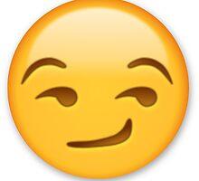 Smirk emoji by Meje