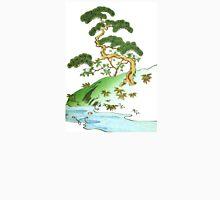 Japanese Tree Illustration Unisex T-Shirt