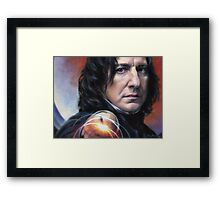 Snape, Defense Against The Dark Arts Framed Print