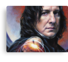 Snape, Defense Against The Dark Arts Canvas Print