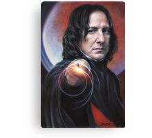 Defense Against the Dark Arts, Professor Snape Canvas Print