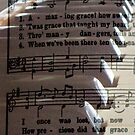 Amazing Grace iPhone Case by Betty Northcutt